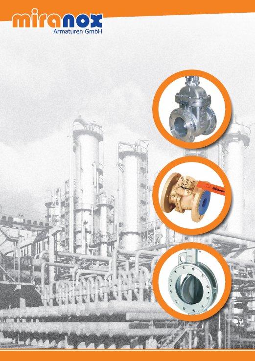Spezialist für Industriearmaturen - miranox Armaturen GmbH