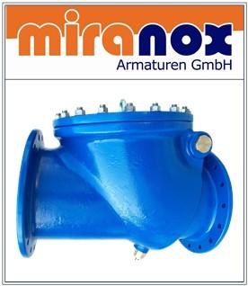 NBR Rückschlagklappe aus Sphäroguss GGG-40