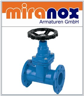 Trinkwasserschieber / Abwasserschieber GGG-40 mit EPDM / NBR-Keil