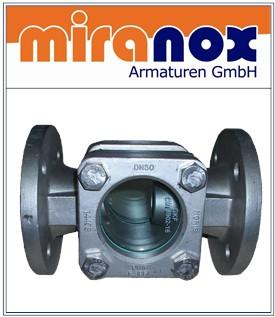Schauglas aus GG-25 GP240GH Edelstahl Schauglas 1.4408