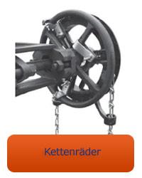 Armaturenbetätigung mit miranox Kettenrad Trumbull - universal für Industriearmaturen in großen Einbauhöhen