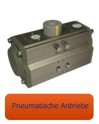 Pneumatikantrieb für Kugelhahn miraball mit ISO Adapter oder miranox Absperrklappe ISO 5211