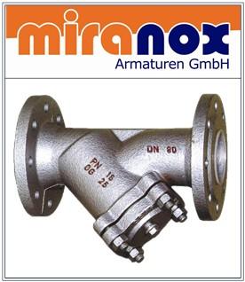Grauguss-Schmutzfänger GG-25 Schrägsitz-Filter