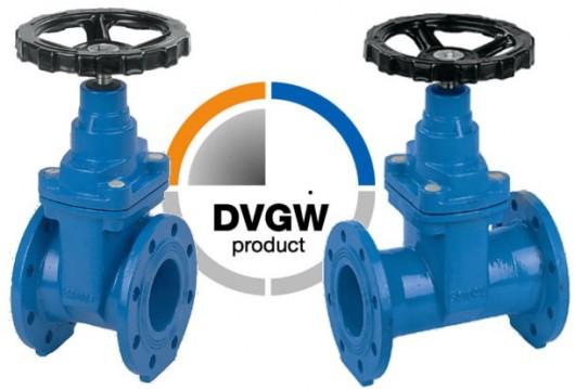 Absperrschieber mit DVGW-Zulassung