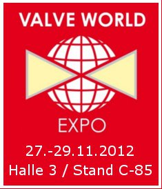 VALVEWORLD 2012 Messe Industriearmaturen