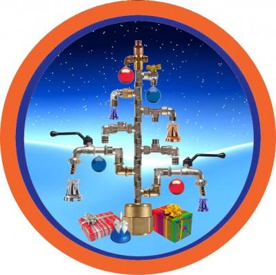 Weihnachten Industrie Armaturen