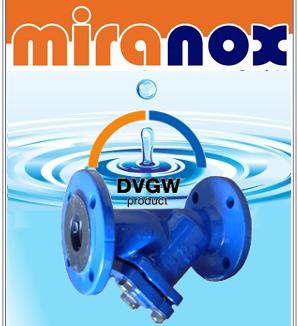 DVGW Schmutzfänger für Trinkwasser